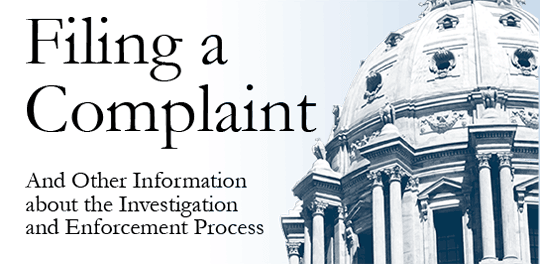 How to File a Complaint Link